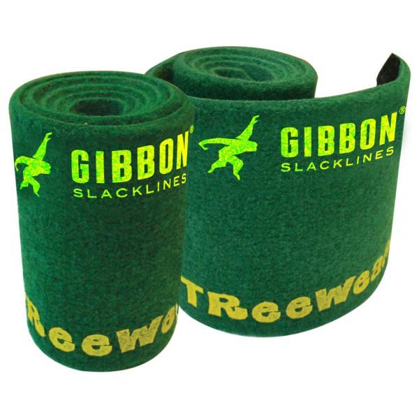 Gibbon Slacklines - Treewear Baumschoner Gr 2 x 1 m grün - broschei