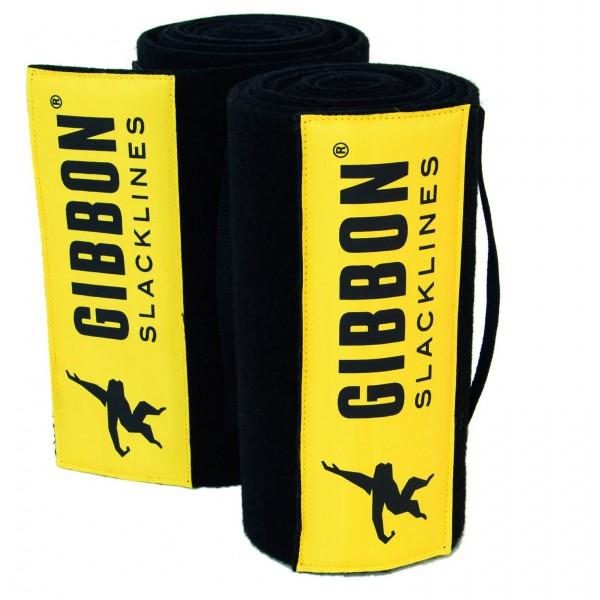 Gibbon Slacklines - Tree Wear XL - Baumschutz Gr 2 x 200 cm gelb /schwarz 13098