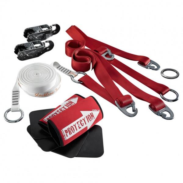 Slackline-Tools - Fit 'N Slack Set - Slackline Gr 10 m