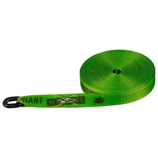Elephant Slacklines - Pocket Line - Slackline Gr 13 m grün 18968