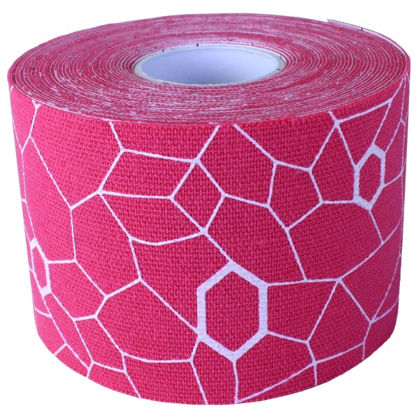 Thera-Band - Kinesiology Tape Rolle - Tape Gr 5 m - 5 cm rosa/weiß 12930