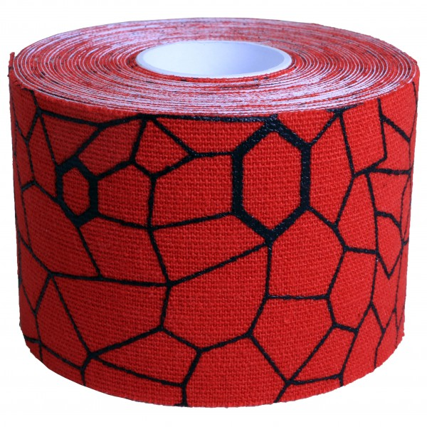 Thera-Band - Kinesiology Tape Rolle - Tape Gr 5 m - 5 cm rot/schwarz