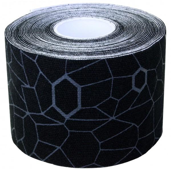 Thera-Band - Kinesiology Tape Rolle - Tape Gr 5 m - 5 cm schwarz/grau