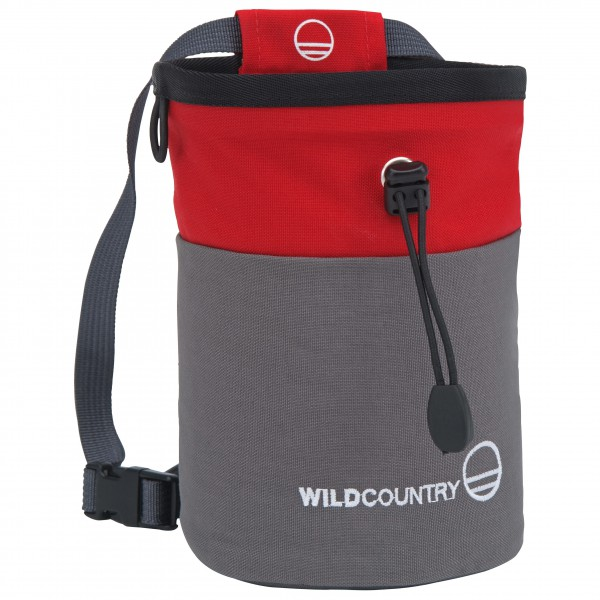 Ruhland Angebote Wild Country - Petit Bloc Chalk Bag Chalkbag rot