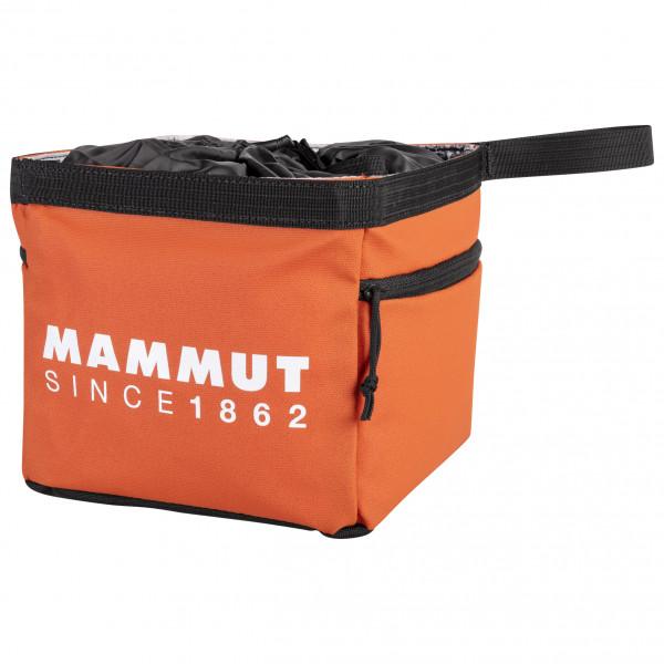 Mammut - Boulder Cube Chalk Bag - Chalk Bag Size One Size  Orange/black/red