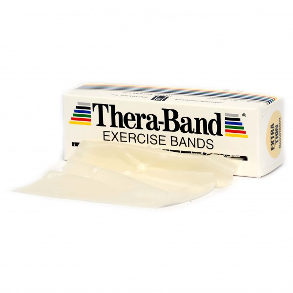 Thera-Band - Übungsband - Fitnessband Gr 12,8cm x 5,50m beige 20010