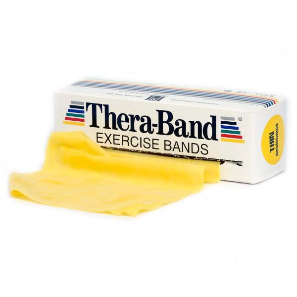 Thera-Band - Übungsband - Fitnessband Gr 12,8cm x 5,50m gelb 20020