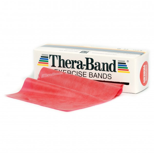 Thera-Band - Übungsband - Fitnessband Gr 12,8cm x 5,50m rot 20030
