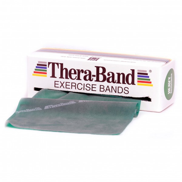 Thera-Band - Übungsband - Fitnessband Gr 12,8cm x 5,50m grün 20040040