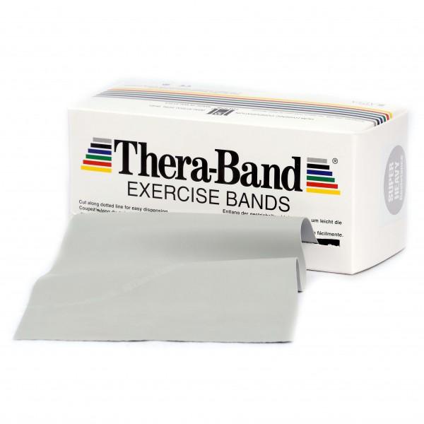 Thera-Band - Übungsband - Fitnessband Gr 12,8cm x 5,50m grau 20070