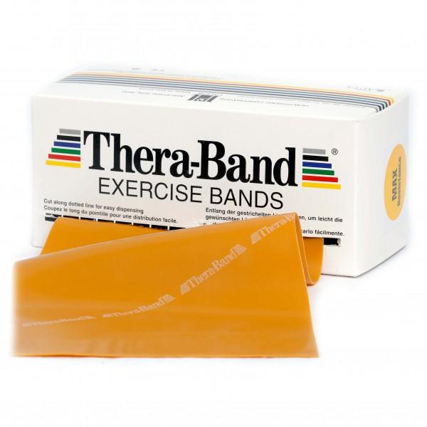 Thera-Band - Übungsband - Fitnessband Gr 12,8cm x 5,50m gold 20080
