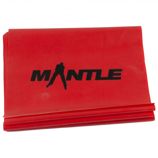 Mantle - Latex Band - Fitnessband rot 5002