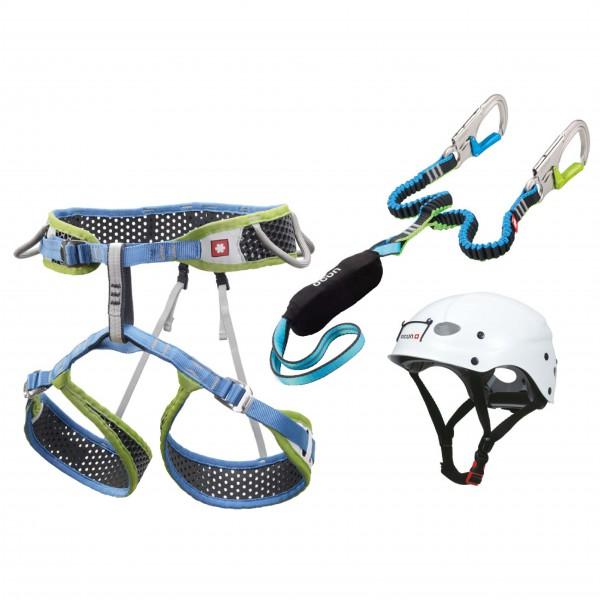 Ocun - Via Ferrata Webee Pail Set - Klettersteigset Gr XL blau/weiß