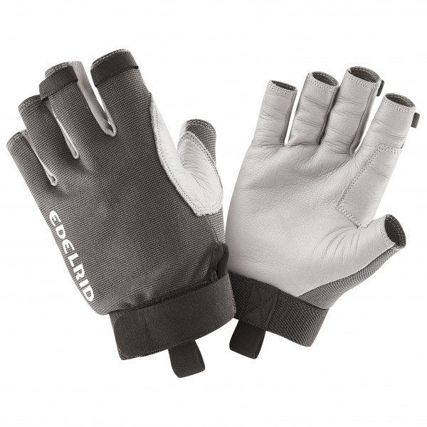 Edelrid - Work Glove Open Ii - Gloves Size Xs  Grey/black