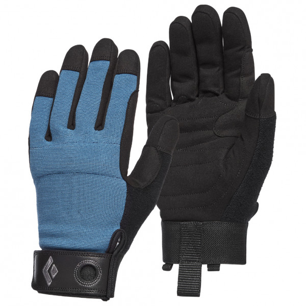 Black Diamond - Crag Gloves - Gloves Size M  Black/blue