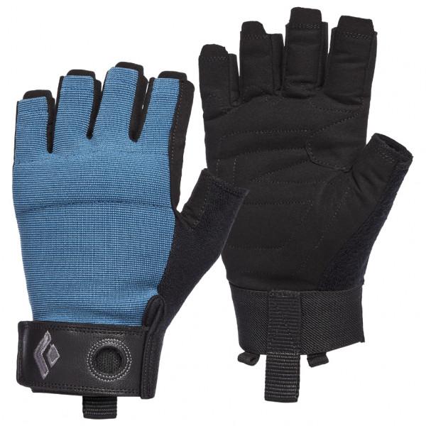 Black Diamond - Crag Half-finger Gloves - Gloves Size Xl  Black/blue