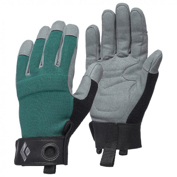 Black Diamond - Womens Crag Gloves - Gloves Size M  Grey/black/turquoise