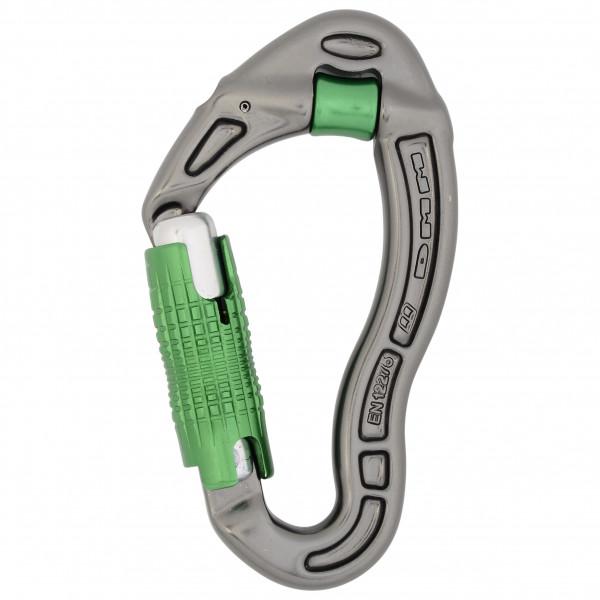 DMM - Revolver Locksafe - Verschlusskarabiner grau/grün A277