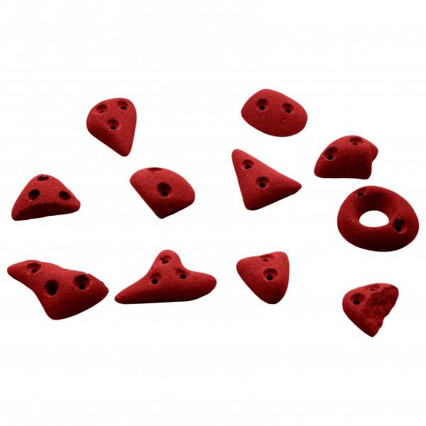 KMZ Holds - Spax 2 - 11er Spax-Set rot 342-0027-0411