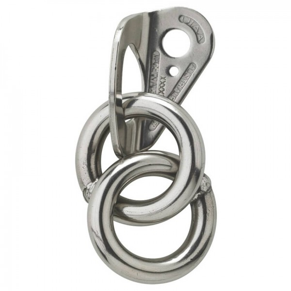 Austrialpin - Hanger Top 10 Mm Double Ring - Belay Anchor Size 10 Mm  Farblos