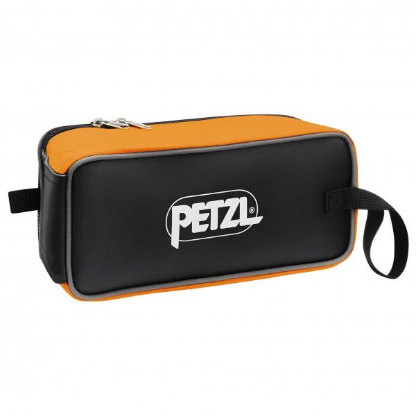 Petzl - Fakir - Steigeisentasche schwarz/orange V01