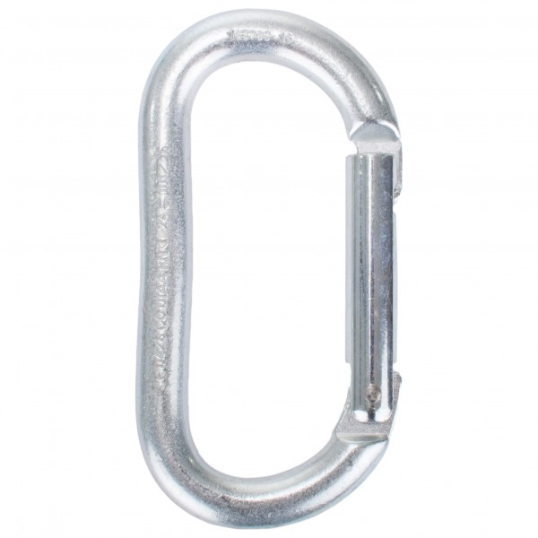 Kong - Oval Steel Straight Gate - Stahlkarabine...