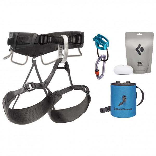 Black Diamond - Momentum 4s Harness Package - Climbing Set Size Xs/s  Grey/black