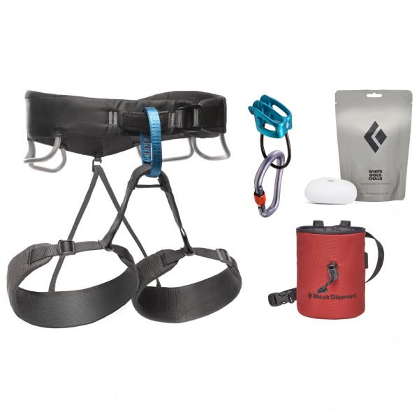 Black Diamond - Momentum Harness Package - Climbing Set Size S  Grey/black