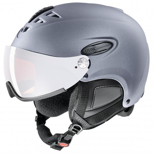 Uvex - HLMT 300 Visor - Skihelm Gr 53-56 cm schwarz/grau