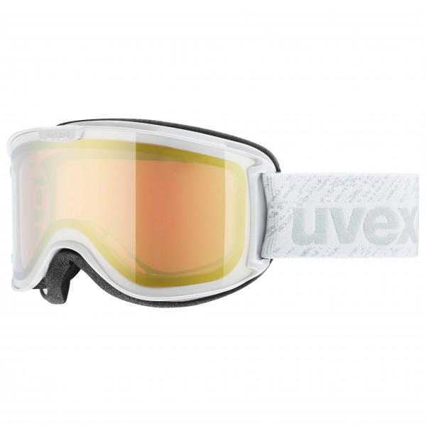 Uvex - Skyper Litemirror S3 Skibrille Gr One Size grau/beige/weiß