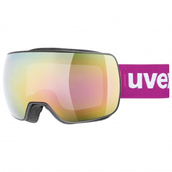 Uvex - Compact Fullmirror S2 Skibrille Gr One Size beige/rosa/weiß/grau 4043197290409 blauer-urlaub.de