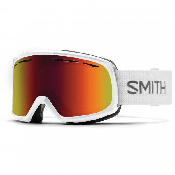 Smith - Women's Drift S3 (VLT 17%) - Skibrille Gr M grau/rot/weiß