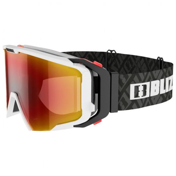 Bliz - Switch Nano Optics S2 VLT 39% - Skibrille schwarz/rot 40189-04S