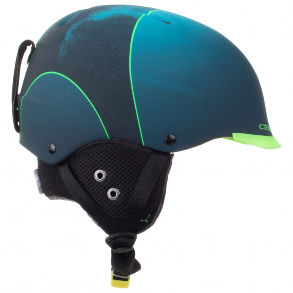 Cébé - Contest Visor Pro - Casque de ski taille 62-64 cm, bleu 41141832949c