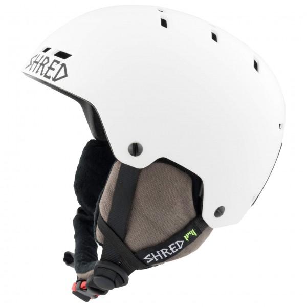 SHRED - Bumper Noshock - Skihelm Gr M weiß/schwarz Preisvergleich
