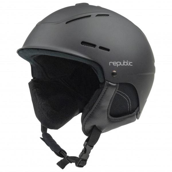 #Republic – Helmet R320 – Skihelm Gr 57-59 cm schwarz/grau#