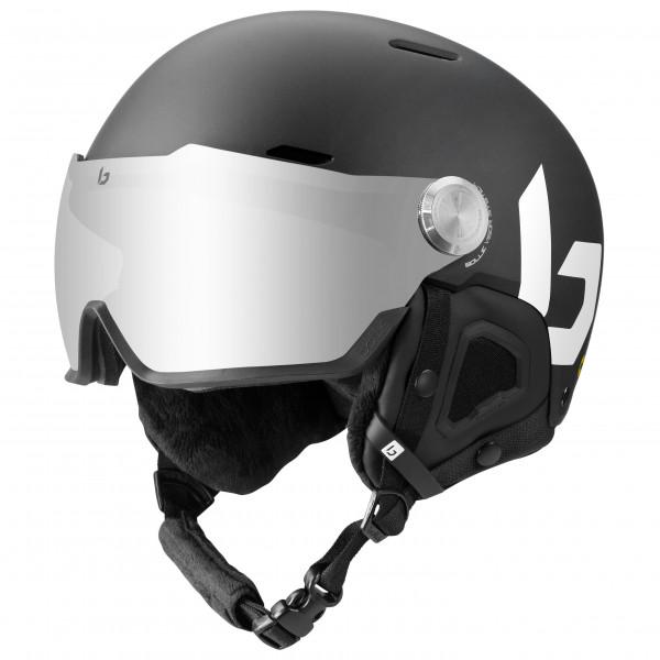Boll - Might Visor Cat. 2 - Ski Helmet Size 55-59 Cm  Black/grey