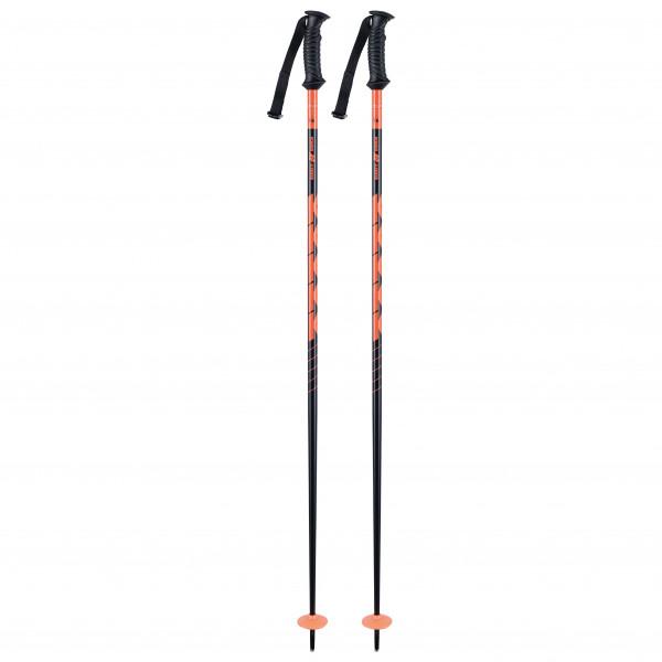 K2 - Power Alu - Ski Poles Size 135 Cm  Orange