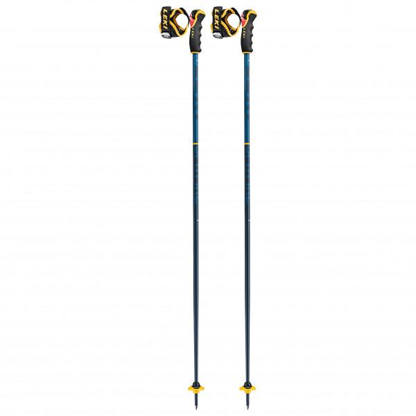 Leki - Spitfire 3d - Ski Poles Size 105 Cm  Blue/ Mustardgelb