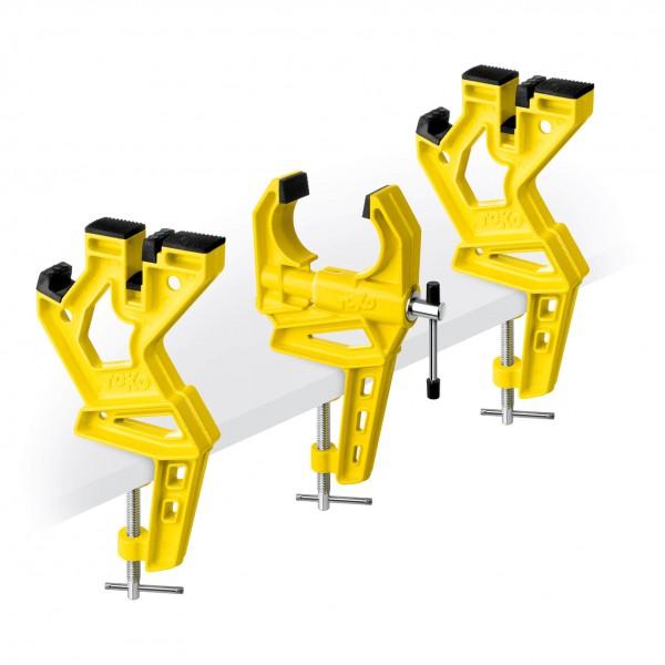 Toko - Ski Vise Race - Einspannvorrichtung gelb 5560047