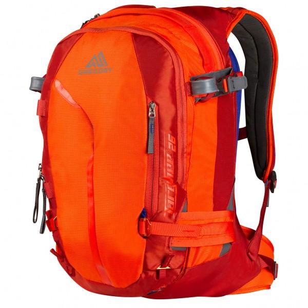 Gregory - Targhee 26 Skitourenrucksack Gr l blau/schwarz;orange/gelb;schwarz;türkis/blau