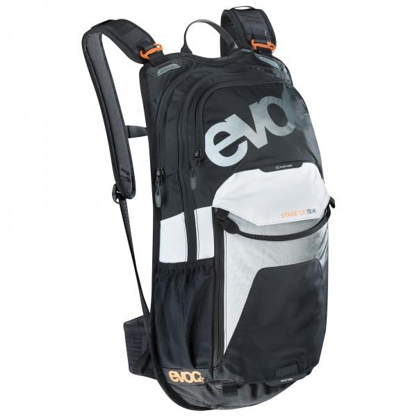 21d6eb76c2 Evoc - Stage 12L - Sac à dos vélo taille 12 l, gris/orange