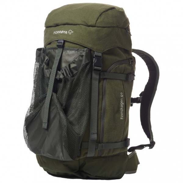 Norrøna - Finnskogen Integral Pack 40 L - Daypack schwarz