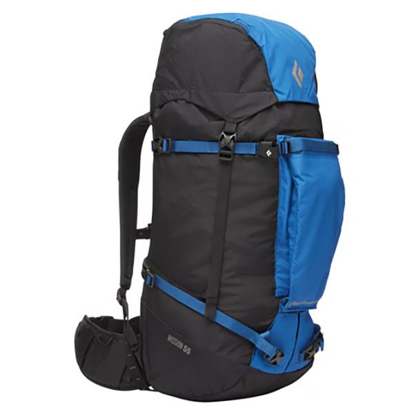 Black Diamond - Mission 55 - Climbing Backpack Size 52 L - M/l  Black/blue