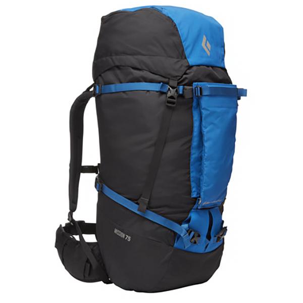 Black Diamond - Mission 75 - Climbing Backpack Size 75 L - S/m  Black/blue