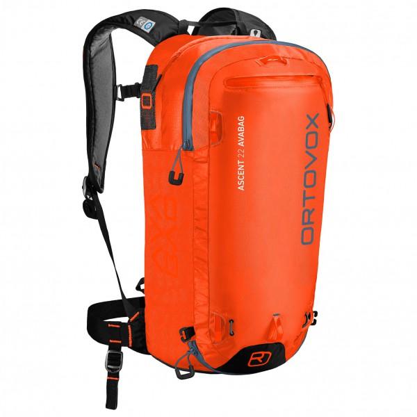 Ortovox - Ascent 22 Avabag Kit Lawinenrucksack Gr 36 44 cm rot/orange Sale Angebote Lutzketal