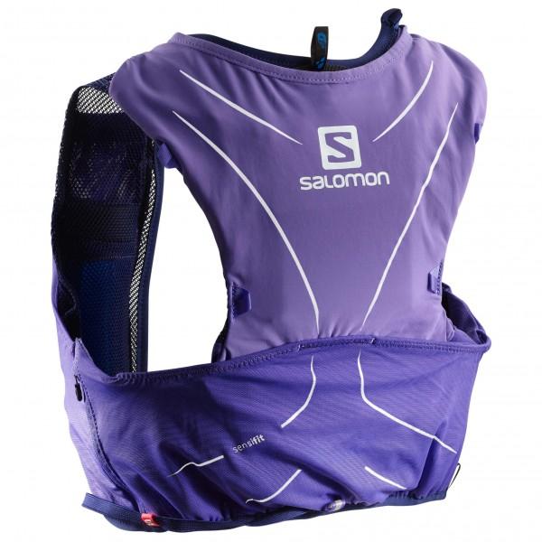 Salomon - Advanced Skin 5 Set - Trailrunningrucksack Gr XXS lila Preisvergleich