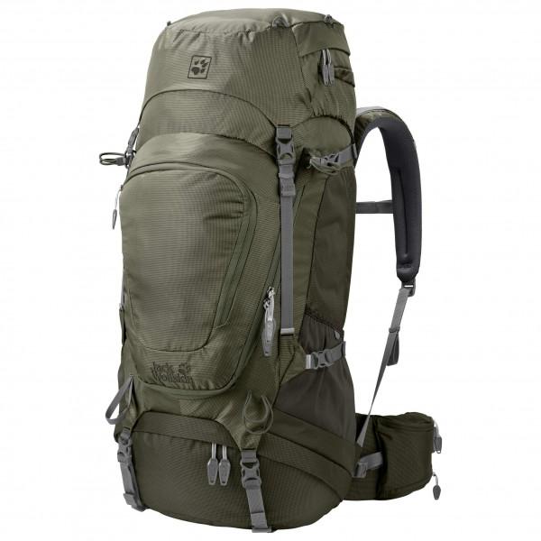 Jack Wolfskin Highland Trail XT 50 Trekkingrugzak maat 50 l zwart-olijfgroen-grijs