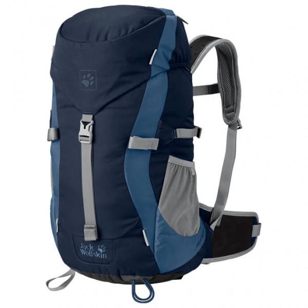 Jack Wolfskin Kids Alpine Trail Dagbepakking maat 20 l blauw-zwart-grijs
