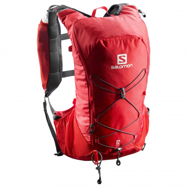 Salomon - Agile 12 Set - Trailrunningrucksack Gr One Size rot Preisvergleich